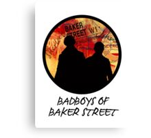 Bad Boys of Baker Street Modern Edition (Black) Canvas Print
