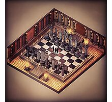 Harry Potter - Wizard's Chess Photographic Print