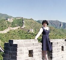 great wall by LisaBeth