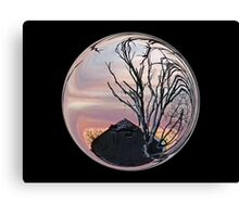 Cindy's Snow Globe's Canvas Print