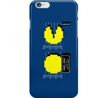 Pac Man Busted! -pixel version-  iPhone Case/Skin