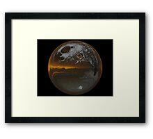 Cindy's Snow Globe's 7 Framed Print