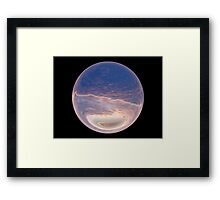 Cindy's Snow Globe's 11 Framed Print