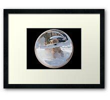 Cindy's Snow Globe's 12 Framed Print
