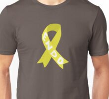 Endometriosis Awareness Ribbon Unisex T-Shirt