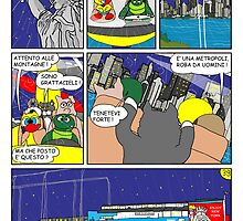 """Rick the chick  """"THE MAGIC SHELL (la grande metropoli) parte 39"""" by CLAUDIO COSTA"""