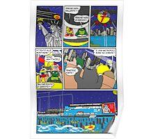 """Rick the chick  """"THE MAGIC SHELL (la grande metropoli) parte 39"""" Poster"""