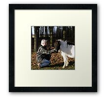 Love At First Sight .... Framed Print