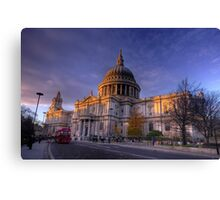 St Paul's Cathedral, London, UK Canvas Print