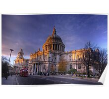 St Paul's Cathedral, London, UK Poster