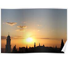 Bethlehem Sunrise Poster