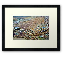 Sunbury Music Festival Framed Print