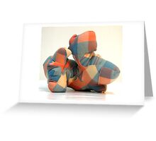 Lovable Despite a Complex Personality No.2 Greeting Card