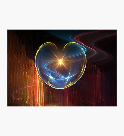 Healing Heart Photographic Print