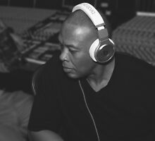 The Doctor (Dr. Dre) in the Lab - 2015 by Rei Dantes