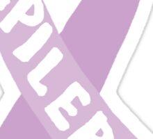 Epilepsy Awareness Ribbon Sticker