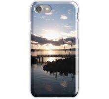 Beautiful Waterfront Sunrise iPhone Case/Skin