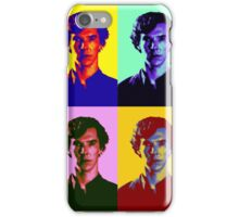Warhol's Sherlock/Benedict Cumberbatch  iPhone Case/Skin