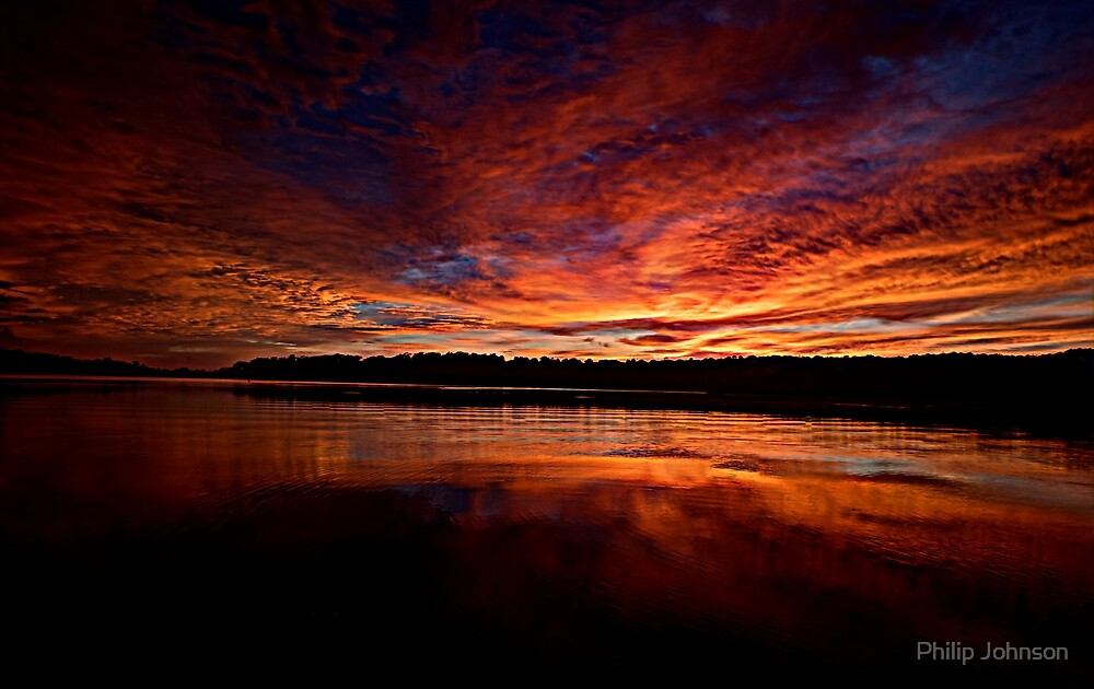 Marvel - Narrabeen Lakes, Sydney, Australia - The HDR Experience by Philip Johnson