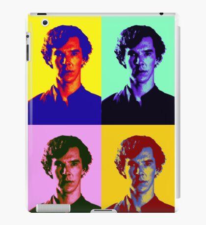 Warhol's Sherlock/Benedict Cumberbatch  iPad Case/Skin