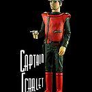 Captain Scarlet (black) by Kezzarama