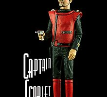 Captain Scarlet (black) by Kezzarama
