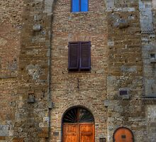 House in San Gimignano by David Tinsley
