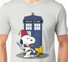 Snoopy Who. Unisex T-Shirt