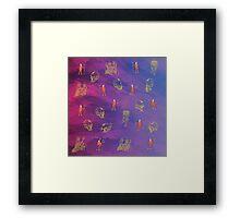 William Price virus Framed Print