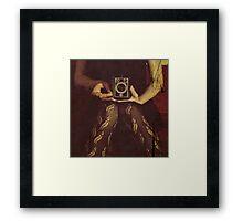 .agfa.box. Framed Print