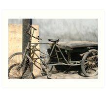 """""""Beijing Delivery"""", Beijing Art Print"""