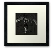 language is a virus Framed Print