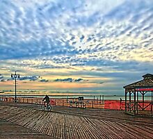 Early morning at the boardwalk-another version by henuly1