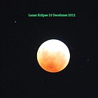 Lunar Eclipse, Perth Australia 10 December 2011 by joannexx
