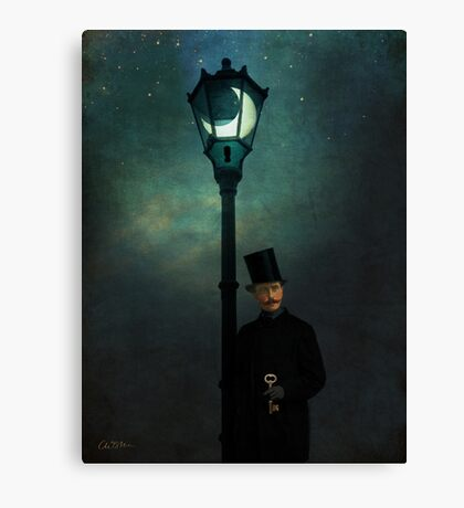 It happened in the moonlight Canvas Print