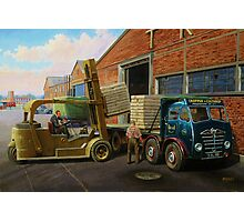 Foden FG6/15 Photographic Print