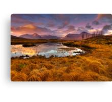 Rannoch Moor, Glencoe, Scotland Canvas Print