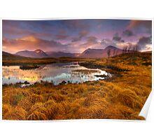 Rannoch Moor, Glencoe, Scotland Poster