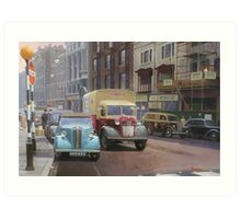 British Railways Austin K2 two-tonner. Art Print