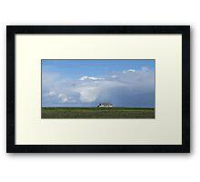 Prairie Sea Framed Print