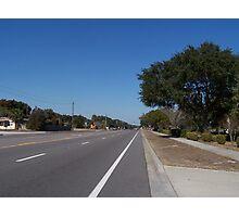 Main Highway Photographic Print