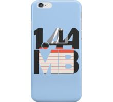 1.44MB Floppy Disk iPhone Case/Skin