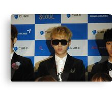Junhyung at United Cube 1 Canvas Print