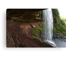 Waterfalls at summer time in Catskills, NY  Canvas Print