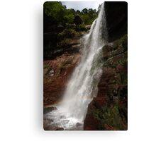Lower Catskills waterfalls view Canvas Print