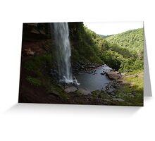 Upper Catskills waterfalls Greeting Card
