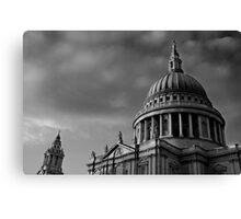 St Paul's Dome, London, UK Canvas Print