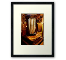 This Is the Way, Step Inside... Framed Print
