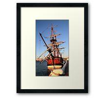 HMS Endeavour Framed Print