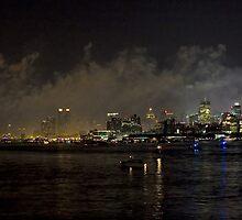 Fireworks Over Manhattan by Ray Chiarello
